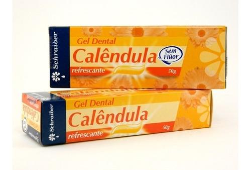 gel dental de calêndula (sem flúor) 50 g