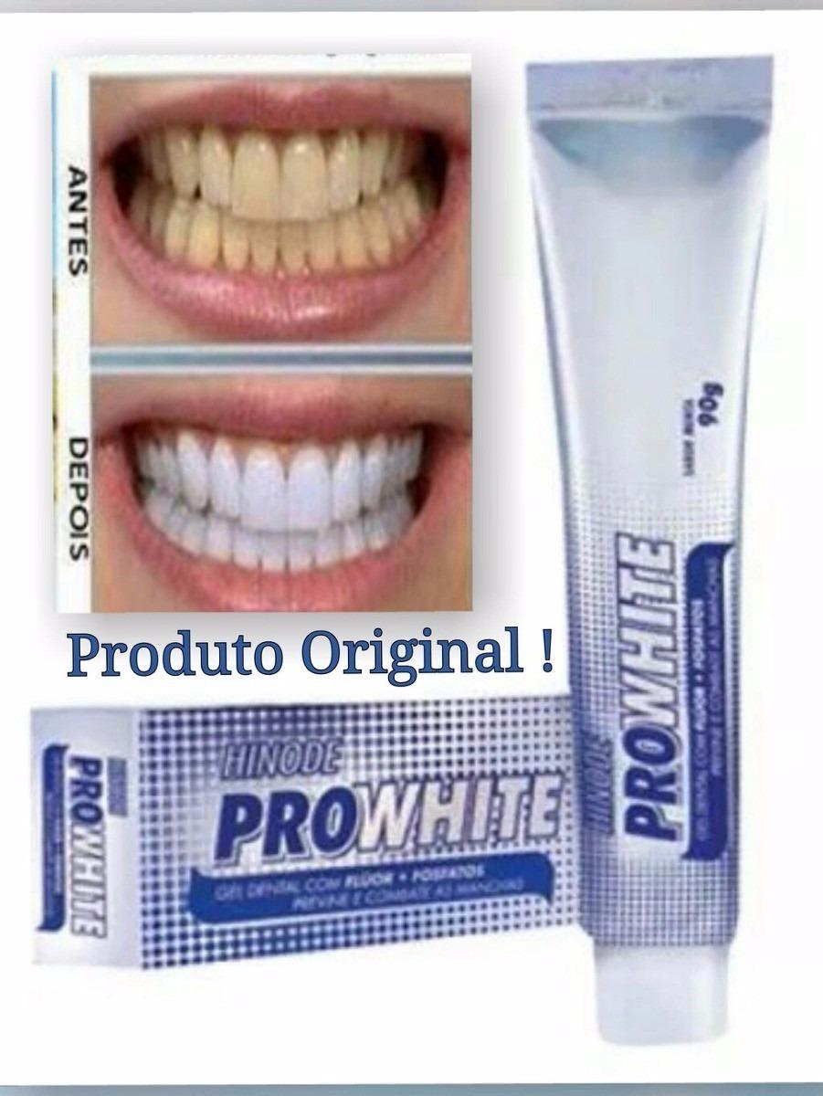 Gel Dental Pasta De Dente Clareador Hinode Pro White R 31 00 Em