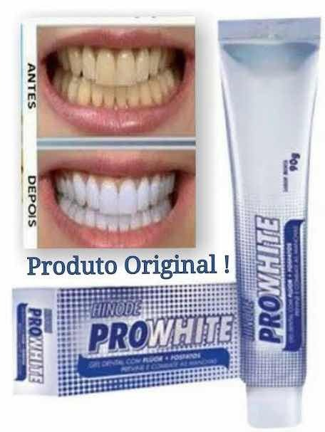 Gel Dental Pro White Pasta Dental Clareadora R 7 50 Em Mercado