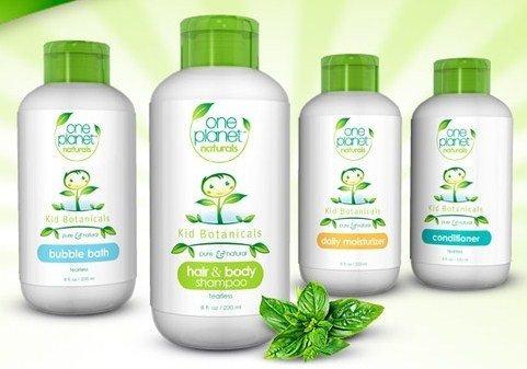 gel ducha one planet naturals corporal para niños 8 oz.