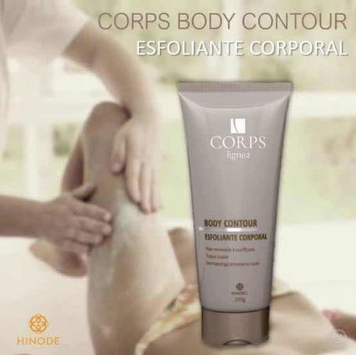 gel esfoliante corporal corps hinode
