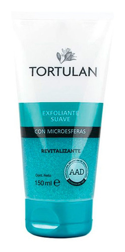 gel exfoliante revitalizante tortulan x 150 ml