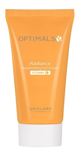 gel facial hidratante con vitamina c optimals radiance