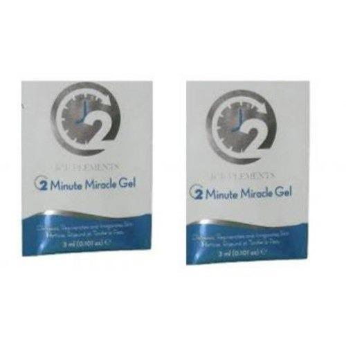 gel facial restaurador 2 minutes miracle x 2 sachet single