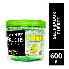 Gel Fijador Fructis Style Garnier, Fuerte Tarro 600g