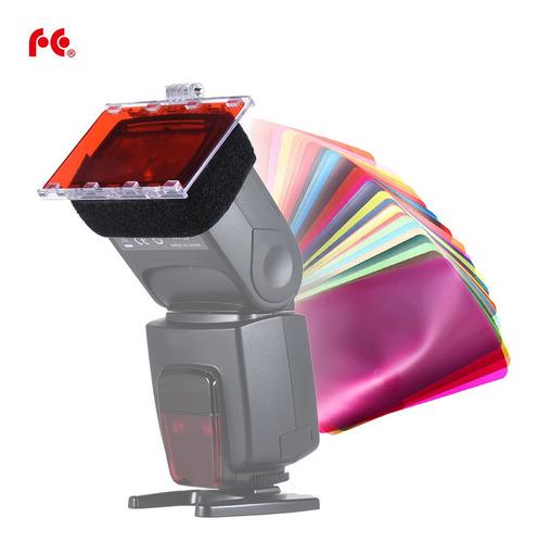 gel filtro de cor speedlite cfa-30k falconeyes
