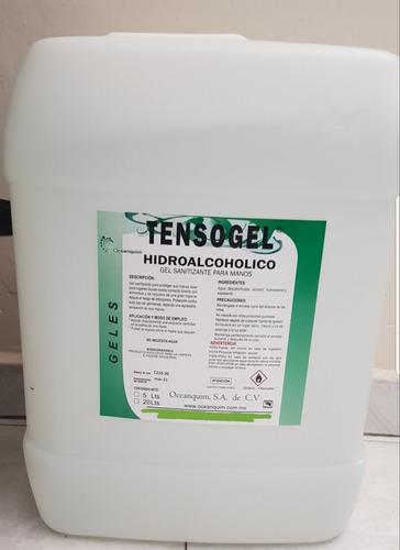 gel hidroalcohólico y spray desinfectante