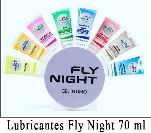 gel íntimo fly night wet pleasure estimulante femenino