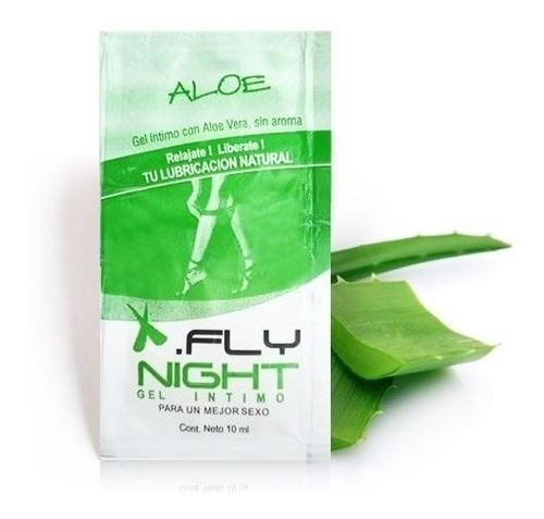 gel íntimo natural aloe sin aroma caja de 12 unidades