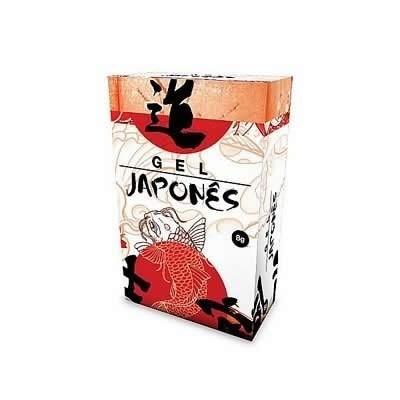 gel japonês 8 gramas bisnaga - retardante