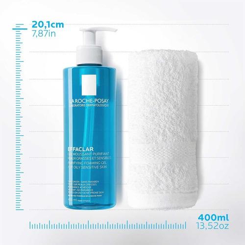 gel limpiador piel grasa effaclar la roche posay 400ml