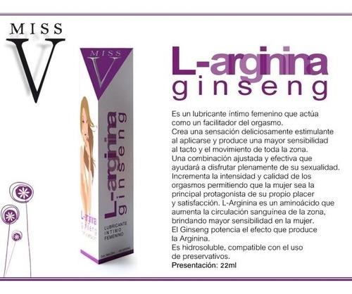 gel lubricante intimo l-arginina afrodisiaco sexshop