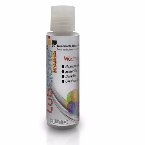 gel lubricante warm - lubclone warm vaginal neutro - 70 g