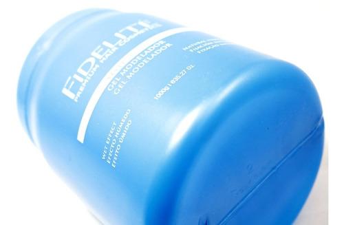 gel modelador fidelite fijación natural pelo peluqueria 1kg