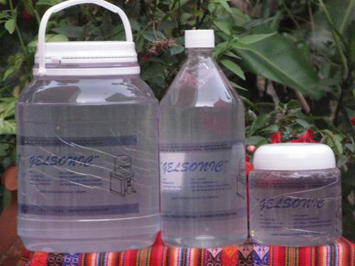 gel neutro de alta viscosidad para salud y estética 3 kg