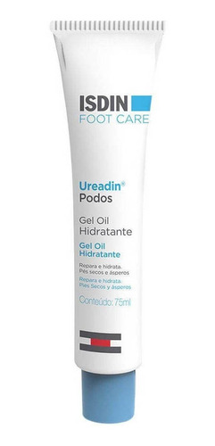 gel óleo hidratante para os pés isdin - ureadin podos 75ml
