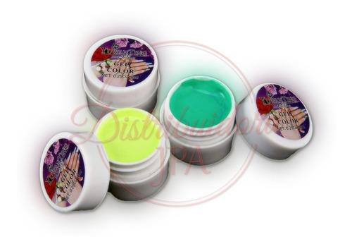 gel paint uv led color 2x36 unidades