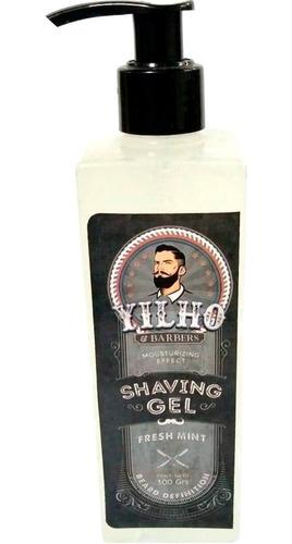 gel para afeitar yilho shaving fresh mint x 300 gr