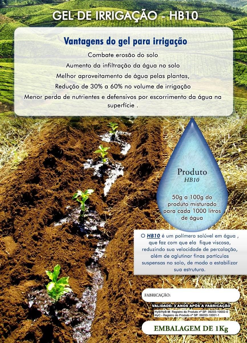 53b842fcf Gel Para Irrigacao 1 Kg - Pos Plantio - 2102 - R$ 65,00 em Mercado Livre