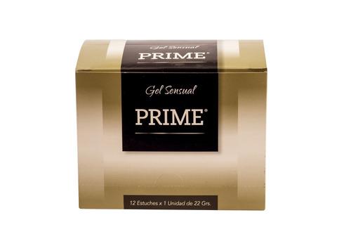gel prime hot pleasure 22gr combo x12 lubricante femenino