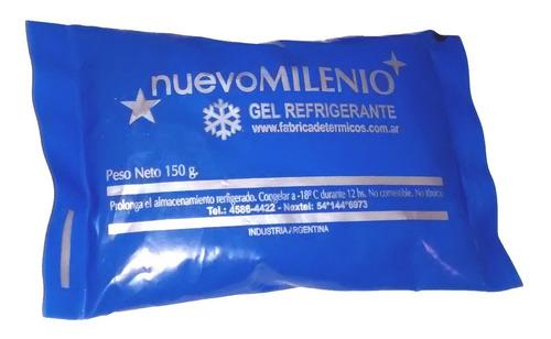 gel refrigerante x 10 envase sachet 150 grs