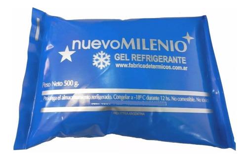 gel refrigerante x5 envase sachet 500grs
