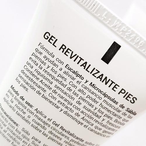 gel revitalizante nutriente pies piernas - l a $144