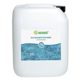Gel Sanitizante Sin Alcohol 20l, Biodegradable, Ecosol