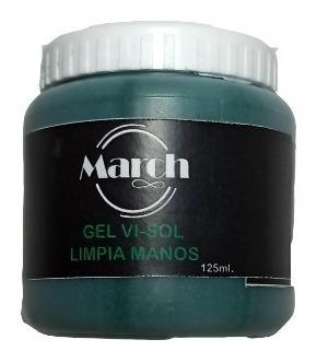 gel suavizante desengrasante limpia manos march taller 125ml