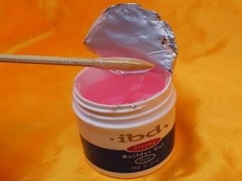 gel uv construtor pink - marca ibd (usa) unhas gel, acrígel