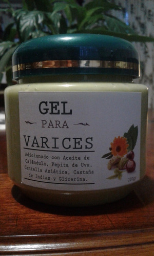 gel varices natural tamaño mid envio gratis