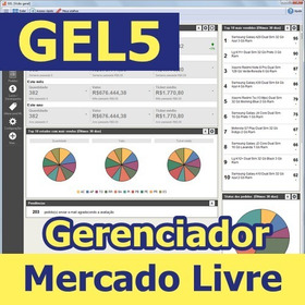 Gel5 Gerenciador De Vendas Mercado Livre 1 Ano