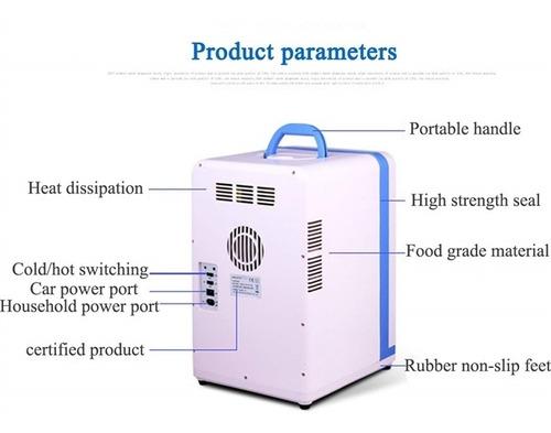 geladeira 15 litros frigobar 15l casa escritorio barco carro