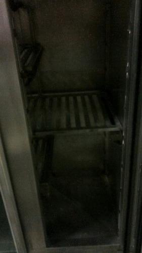 geladeira de inox industrial