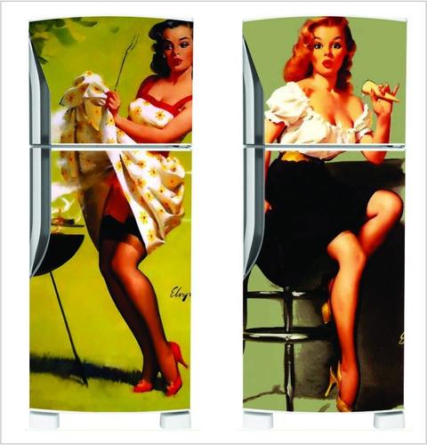 geladeira decoração envelopamento