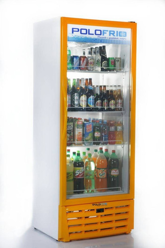 geladeira expositora visacooler 450 litros polofrio - nova