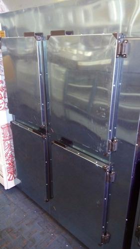 geladeira industrial 4 portas em inox