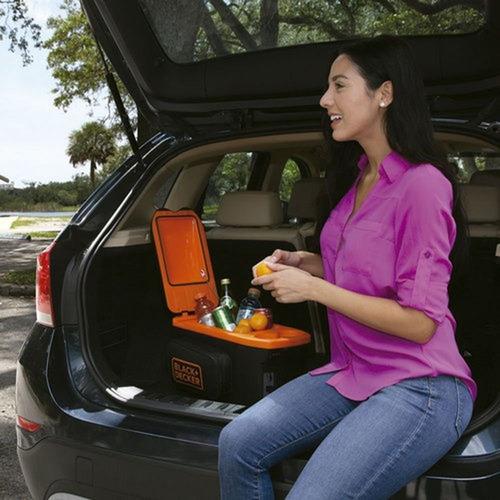 geladeira para carro portátil 8l bdc8-la black e decker 12v