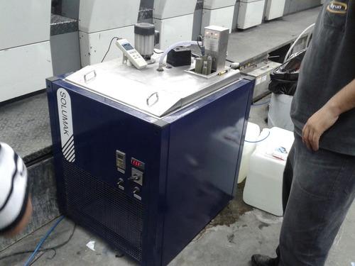 geladeira para maquinas graficas