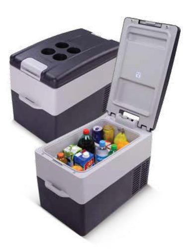 geladeira portátil resfriar 31 litros digital 12/24v 110/220