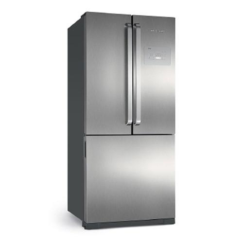 Geladeira/refrigerador 540 Litros 3 Portas Inox Frost Free Side Ice Maker - Brastemp - 220v - Bro80akbna