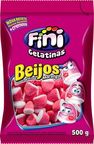 gelatina beso fresa fini x500g