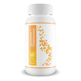Gelatina Com Thiomucase 500 Mg - 60 Cápsulas