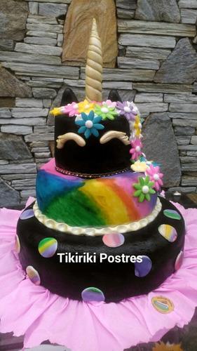 gelatinas, cupcakes tortas