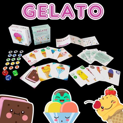 gelato juego mesa  - novedad - enviamos en cuarentena