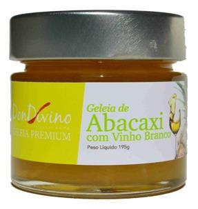 geleia de abacaxi com vinho branco 190g  - don divino