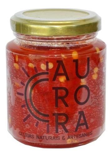 geleia natural de pimentão vermelho - premium geleias aurora