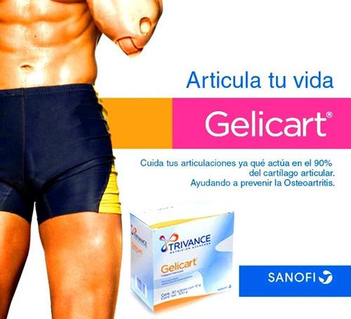 gelicart caja 30 sobres polvo colageno proteina aminoacidos