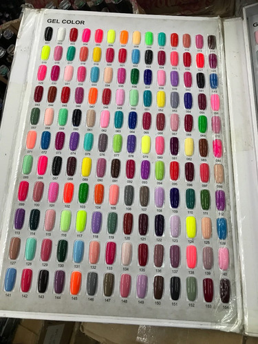 gelish esmalte uv / led r s nail +de 200 colores disponibles