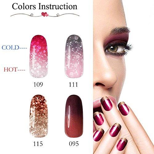 Gellen Juego De Esmalte Para Uñas Gel Ultravioleta Color